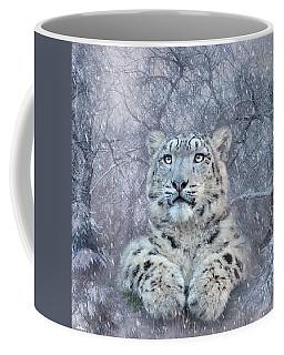 Snow Leopard Cub 02 Coffee Mug