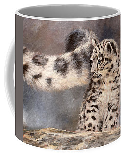 Snow Leopard Tail Coffee Mug