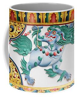 Snow Lion Coffee Mug