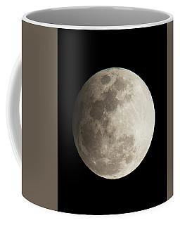 Snow Moon Coffee Mug by John Black
