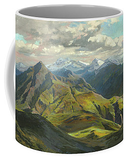 Snow Mountains  Coffee Mug