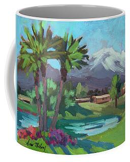 Snow On Mt. San Jacinto Coffee Mug