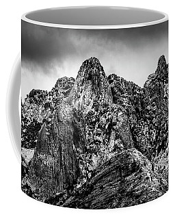 Coffee Mug featuring the photograph Snow On Peaks 46 by Mark Myhaver