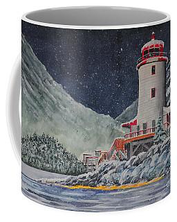 Snow On Sitka Sound Coffee Mug