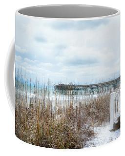 Snow On The Beach 8 Coffee Mug