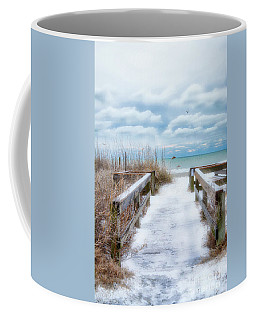 Snow On The Beach 9 Coffee Mug