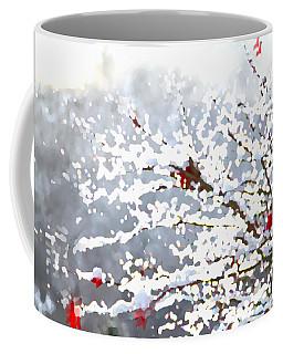 Snow On The Maple Coffee Mug