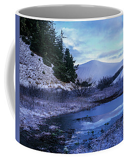 Snow On The Sand Coffee Mug
