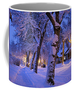 Snow On Warren St. Coffee Mug
