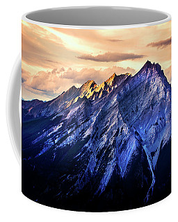 Coffee Mug featuring the photograph Mount Cascade by John Poon