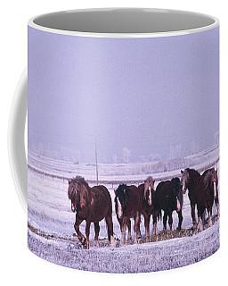 Snow Ponie-4 Coffee Mug