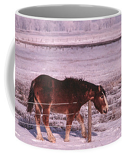 Snow Ponies -3 Coffee Mug