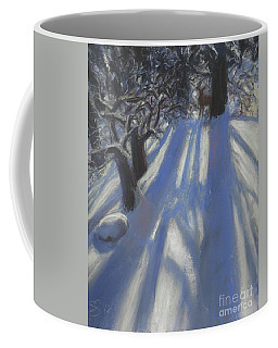 Snow Shadows Coffee Mug