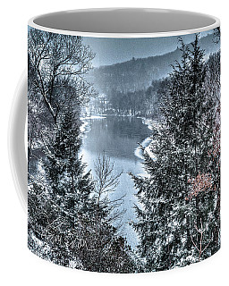Snow Squall Coffee Mug by Tom Cameron