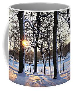 Snow Starred Grove Coffee Mug