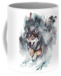 Snow Storm Coffee Mug