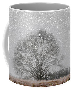 Snow Storm Tree Coffee Mug
