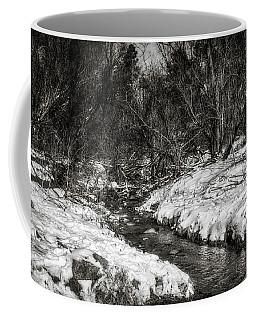 Snow Streams Coffee Mug by Elaine Malott