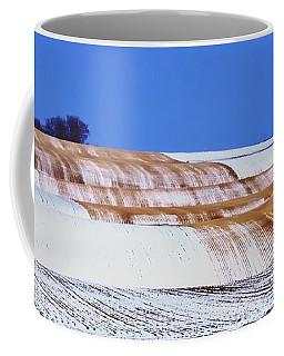Snow Stubble Tree Line 13955 Coffee Mug