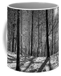 Snow, Sun And Shadow Coffee Mug