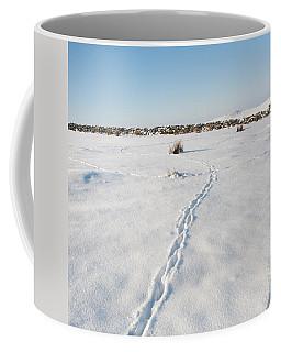 Snow Tracks Coffee Mug