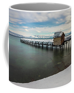 Snow White Pier Coffee Mug