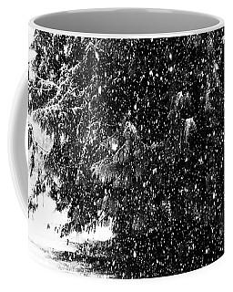 Coffee Mug featuring the photograph Snow by Yulia Kazansky