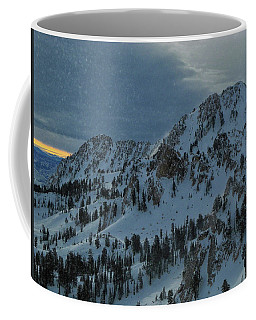 Snowbasin Ski Area As A Snow Globe Coffee Mug