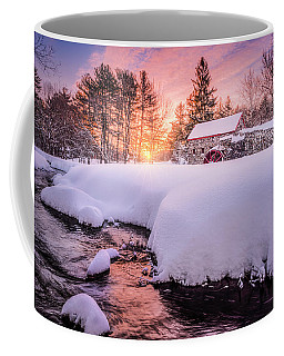 Snowbound Dawn Coffee Mug