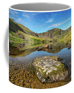 Coffee Mug featuring the photograph Snowdonia Mountain Reflections by Adrian Evans