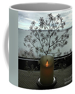 Snowflake Candle Sconce Coffee Mug
