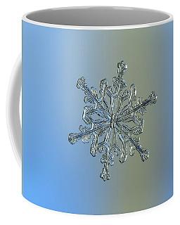 Snowflake Macro Photo - 13 February 2017 - 2 Coffee Mug