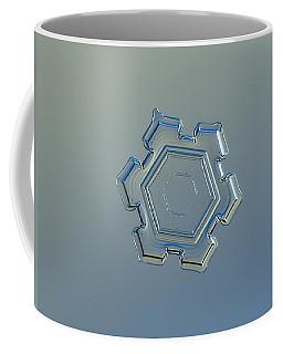 Snowflake Photo - Beneath A Steel Sky Coffee Mug