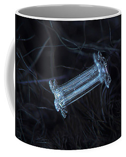 Snowflake Photo - Capped Column Coffee Mug