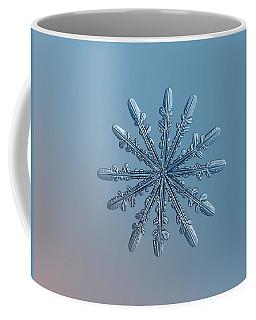 Snowflake Photo - Chrome Coffee Mug