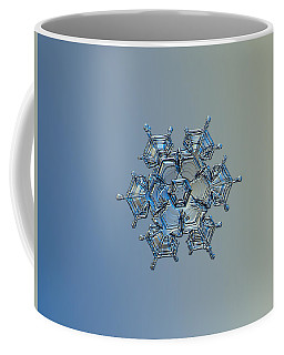 Snowflake Photo - Flying Castle Alternate Coffee Mug