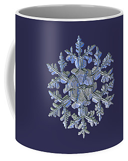Coffee Mug featuring the photograph Snowflake Photo - Gardener's Dream Alternate by Alexey Kljatov