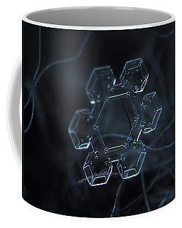 Snowflake Photo - Jewel Coffee Mug