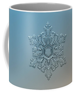 Snowflake Photo - Ornate Pattern Coffee Mug