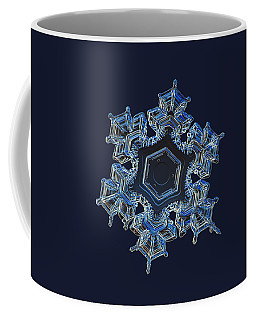 Snowflake Photo - Spark Coffee Mug