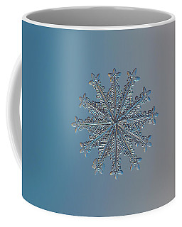 Snowflake Photo - Wheel Of Time Coffee Mug