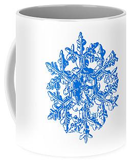 Snowflake Vector - Gardener's Dream White Version Coffee Mug