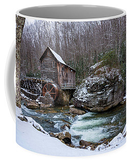 Snowing At The Mill  Coffee Mug