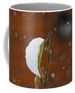 Snowing Coffee Mug by Betty-Anne McDonald