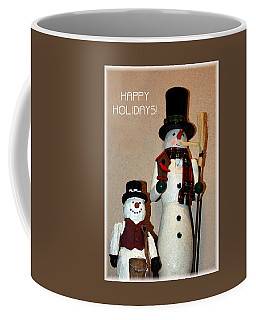 Snowmen Greeters Coffee Mug