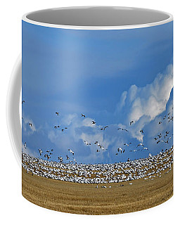 Snows And Storms Coffee Mug