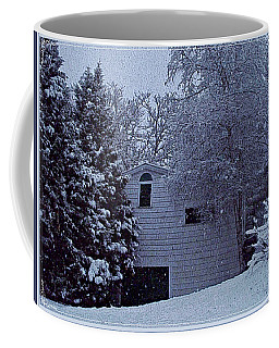 Coffee Mug featuring the photograph Snow's Hush by Joy Nichols