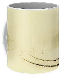 Snowstorm In The Yard S Coffee Mug
