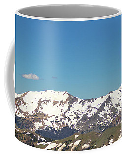 Snowtop Mountains Coffee Mug