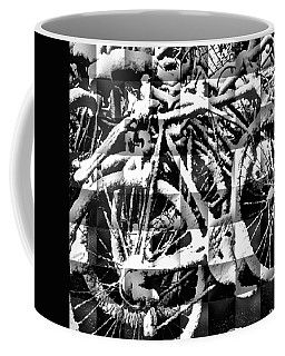 Snowy Bike Coffee Mug